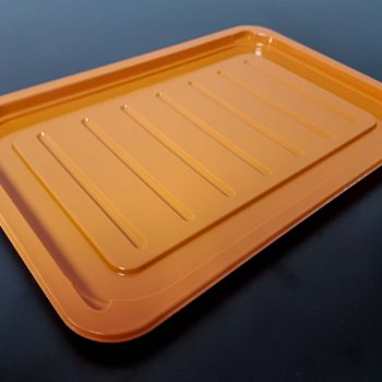 Orange Plastic Tray